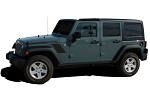 2007-2017 Jeep Wrangler RUNDOWN Hood to Fender Vinyl Decal Graphic Stripes