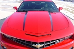 2010-2013 2014 2015 Chevy Camaro HOOD SPEARS Decals Stripes Vinyl Graphics Kits for SS, RS, LT, LS Models