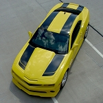 2010-2013 2014 2015 Chevy Camaro Racing Stripes BUMBLE BEE 2 Rally VInyl Graphics Decals Kit for SS, RS, LT, LS Models