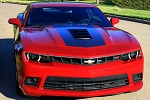 2014 2015 Chevy Camaro Hood Decals SINGLE STRIPE 2 Wide Hood and Trunk Vinyl Rally Stripes Kit SS LS LT Models