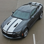 2016 2017 2018 Chevy Camaro Racing Stripes CAM-SPORT PIN Rally Stripes with Pin Striping Outline Kit fits SS and RS Models