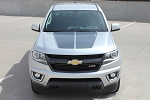 2015 2016 2017 2018 2019 Chevy Colorado Hood Decals Stripes SUMMIT Split Truck Racing Stripe Vinyl Graphics Kit