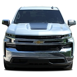 2019 Chevy Silverado Hood Decal T-BOSS Trail Boss Stripe 3M Vinyl Graphics Kit
