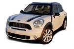 2010-2016 Mini Cooper COUNTRYMAN Hood Racing Stripes Vinyl Graphics Kits