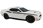 2011-2018 Dodge Challenger Door Stripes DUAL 2 Decals Strobe R/T Vinyl Graphics Mopar Style Stripe Package