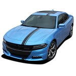 2015-2020 Dodge Charger Hood Stripes E-RALLY Mopar Decals Vinyl Graphics Racing Stripe Kit