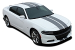 2015-2020 Dodge Charger Racing Stripes N-CHARGE RALLY Hood Decals Vinyl Racing Stripe Kit