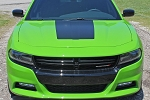2015-2020 Dodge Charger Vinyl Decals HOOD 15 SE RT Hemi Stripes Daytona Mopar Blackout Graphic Kit