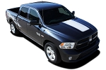 2009-2018 Dodge Ram RAM HOOD Solid Center Hood Vinyl Graphic Truck Stripe Kit