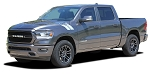 2019 2020 2021 Dodge Ram Hood Stripes HASH MARKS Decals Double Bar Truck Hood Fender Vinyl Graphic Kit