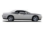 2008-2010 2011-2020 Dodge Challenger Door Stripes DUAL Strobe Decals R/T Vinyl Graphics Mopar Style Kit