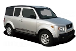 Honda Element ERUPTOR Lower Rocker Stripes Vinyl Decal Graphics Kit