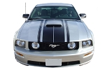 2005-2009 Ford Mustang FASTBACK 2 BOSS Style Vinyl Decal Graphics Kit