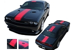 2011-2014 Dodge Challenger FINISHLINE Mopar Style Redline Rallye Racing Vinyl Graphics