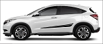FLASH Honda HR-V Side Door Vinyl Graphics Stripes Kit