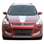 2013-2019 Ford Escape Hood Decal CAPTURE Hood Vinyl Graphic Stripes Kit