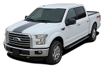 2015-2020 Ford F-150 Hood Stripes CENTER Decals Vinyl Graphic Factory Style Kit