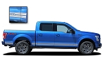 2015 2016 2017 2018 Ford F-150 Decals ROCKER TWO Stripes Lower Rocker Vinyl Graphics