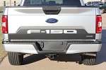 2018 2019 2020 Ford F-150 Decals SPEEDWAY TAILGATE BLACKOUT Vinyl Graphic Stripe Kit