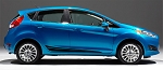 FLASH Ford Fiesta Side Door Vinyl Graphics Stripes Kit