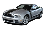 2013 2014 Ford Mustang PRIME 1 302 BOSS Style Body and Door Decals Vinyl Graphics Kit