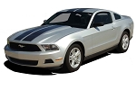 2010-2012 Ford Mustang WILDSTANG Racing Stripes and Rally Stripes Vinyl Decal Graphics Kit