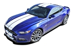 2015 2016 2017 Ford Mustang Racing Stripes STALLION 10