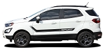 2013-2020 Ford EcoSport FLYOUT Side Door Decal and Hood Vinyl Stripe Graphic Kit