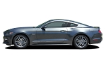2015-2017 Ford Mustang DIGITAL FADED TRILINE ROCKER STRIPES Lower Door Rocker Striping Vinyl Decal Graphics