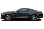 2015-2017 Ford Mustang DIGITAL FADED ROCKER STRIPES GT/CS Style Lower Door Rocker Striping Factory OEM Style Vinyl Decal Graphics
