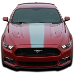 2015 2016 2017 Ford Mustang Body Graphics STELLAR Boss Hood Decals and Side Stripes Vinyl Graphics Kit