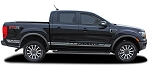 2019 Ford Ranger Stripes RAPID Side Door Body Decal Vinyl Graphic Kit