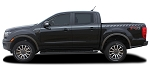 2019 Ford Ranger Stripes Decals UPROAR Side Body Vinyl Graphic Accent Kit