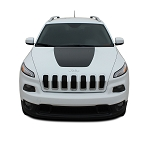 2014-2020 Jeep Cherokee T-HAWK Trailhawk Hood Vinyl Decal Graphic Stripes