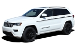 2011-2019 Jeep Grand Cherokee Door Stripes Upper Body Line Decals PATHWAY SIDES Vinyl Graphic