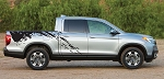 PREDATOR Honda Ridgeline Mudslinger Truck Bed Vinyl Decal Graphic Stripes