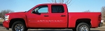Chevy Silverado Decals PYRO Flame Stripe and Pin Striping Vinyl Graphics