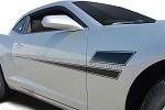 2010-2013 2014 2015 Chevy Camaro Door Decals SHAKEDOWN Hockey Stick Side Vinyl Graphics Stripes Kit