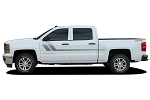 2000-2018 Chevy Silverado Door Stripes TRACK XL Decals Truck Side Vinyl Graphics Kit