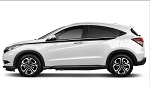 STRIDE Honda HR-V Upper Side Door Body Accent Vinyl Graphics Decals Stripes Kit