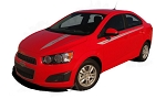 2012-2016 Chevy Sonic SWEEP Hood Stripes and Sides Decals Vinyl Graphics Kit