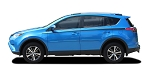 2016-2019 Toyota RAV4 Side Door Stripes 3M Vinyl Graphics Decals Kit