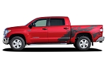 2014-2021 Toyota Tundra SHREDDER Hood and Truck Bed Decal 3M Vinyl Graphics Kit