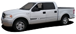 Ford F-150 or F-250 VIKING Lower Rocker Fade Style Universal Fit Vinyl Decal Graphic Stripe