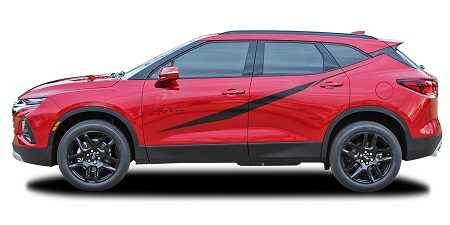2019-2021 Chevy Blazer Body Graphics FLASHPOINT Side Door Decals Vinyl Graphics Kit