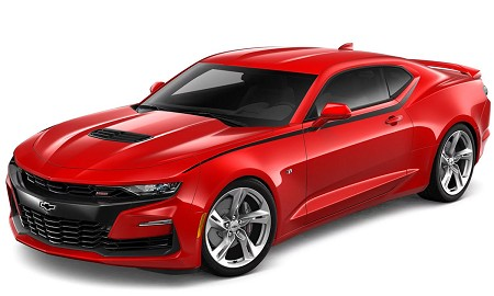 2020 2019 Chevy Camaro SS with Body Side Spear Decals PIKE Upper Side Door to Fender Vinyl Graphics Kit