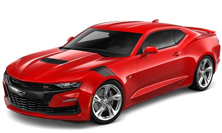 2019 2020 2021 Chevy Camaro SS with Fender HASH MARKS Decals Hood Stripes Vinyl Graphic Kit fits All Models