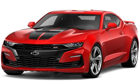 2019 2020 2021 Chevy Camaro SS Racing Stripes REV SPORT Dual Hood Decals Trunk Vinyl Graphics Decal Kit