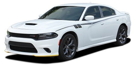 2015-2021 Dodge Charger Side Stripes FIERCE Door Decals Mopar Vinyl Graphics Kit