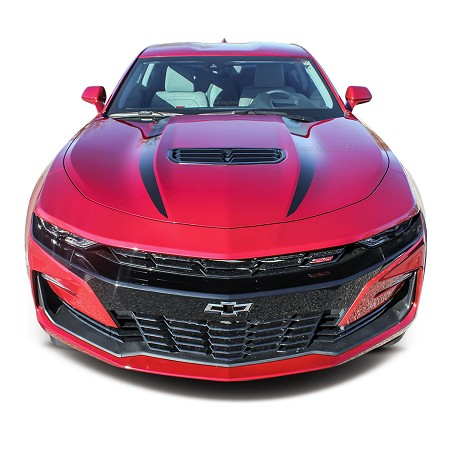 2019 2020 2021 Chevy Camaro Hood Spears Decals WIDOW Spider Hood Stripes Vinyl Graphics Kit